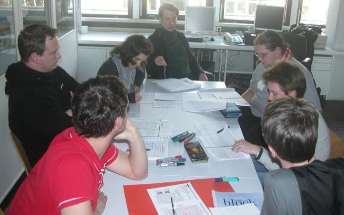 Figura 1: Estudantes de professores como aprendizes © FUB